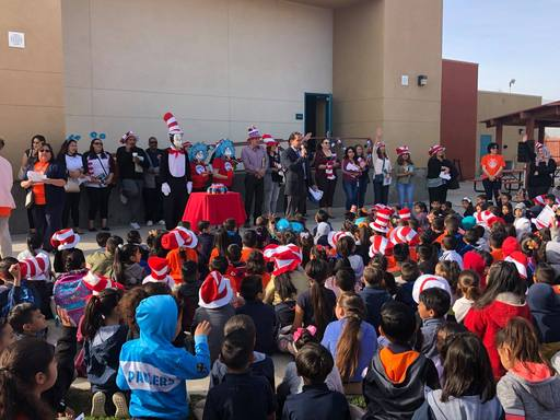 Dr. Seuss Day 2019 at Coral Mountain Academy.