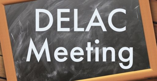 DELAC meeting on May 27, 2020